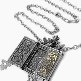 Vlad the Impailer ~ Triptych necklace/locket - option to add your  photo inside
