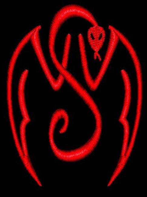 VVS ~ Official  Vampire T shirt or  Vest  -  (2 colours black or red)