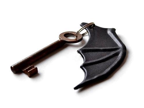 Handmade Leather bat wing