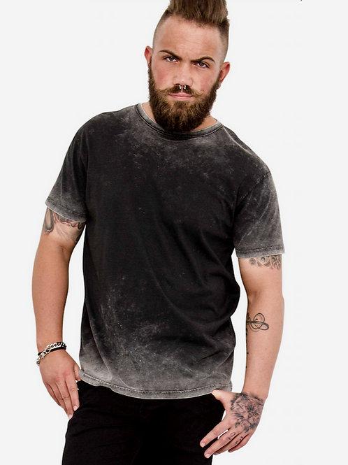 Black Grey -bleed t shirt