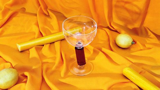 Colour bar goblet: G072 scarlet