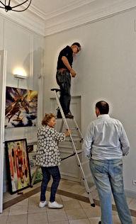 L'Artistique 2018 - Installation des pei
