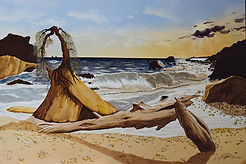 Saadi_Aphrodite's-Rock-oil-painting-form