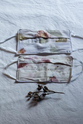 máscara de malha de algodão orgânico