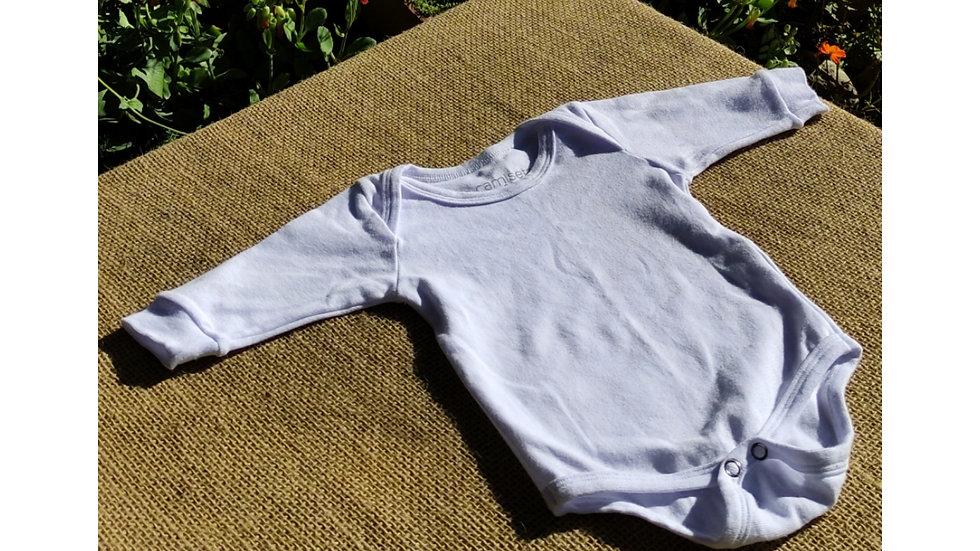 body de algodão orgânico