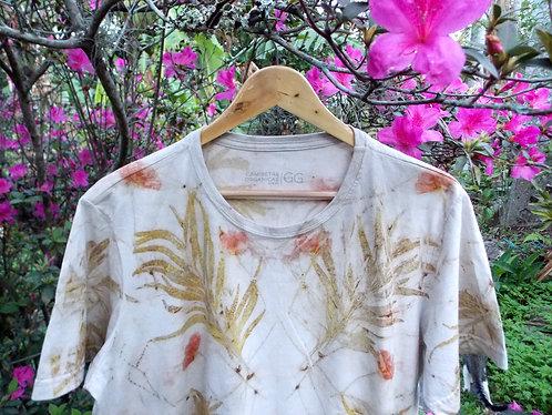 camiseta GG de algodão orgânico