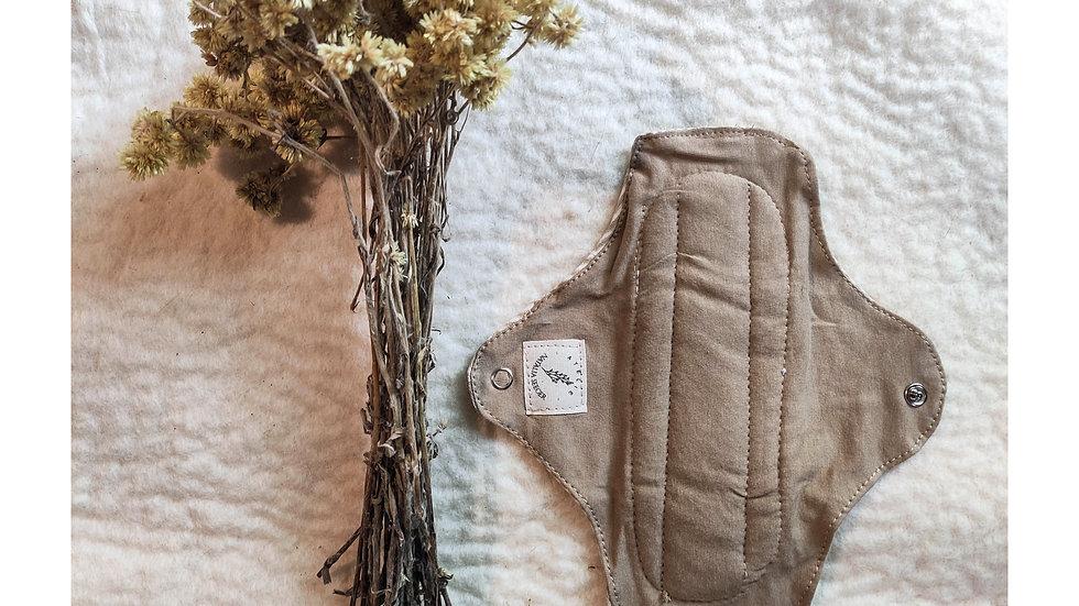 bioabsorvente antivazamento tingido com cogumelos c/ cera e lã natural
