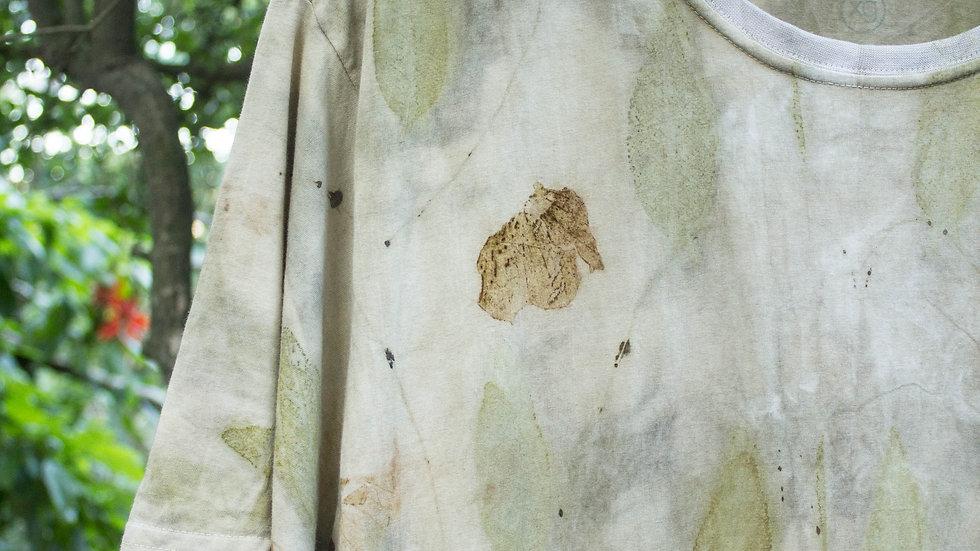 camiseta de algodão orgânico XG unissex