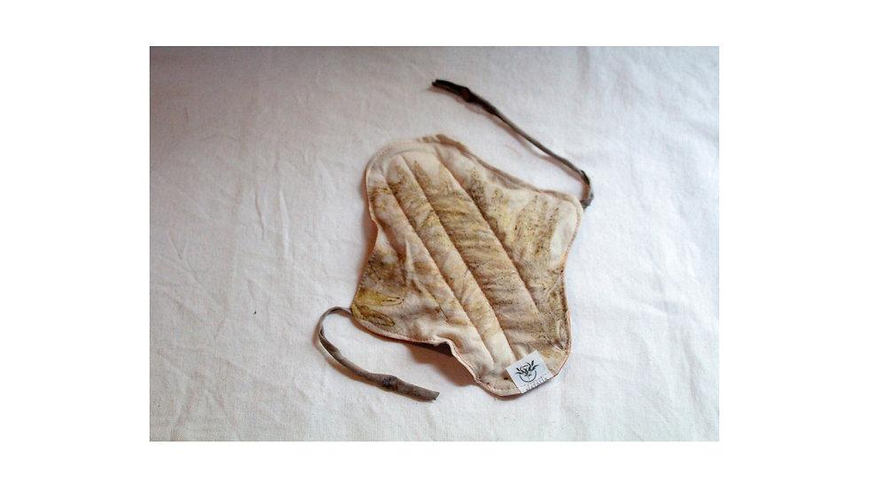 bioabsorvente biodegradável (sem plástico) c/ algodão orgânico grevilha