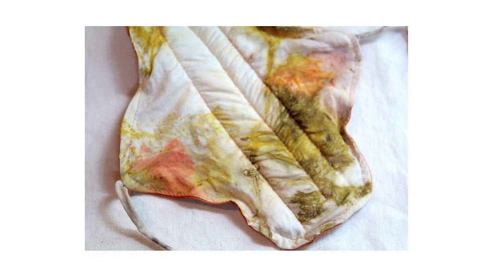 bioabsorvente biodegradável (sem plástico) c/ algodão orgânico melão
