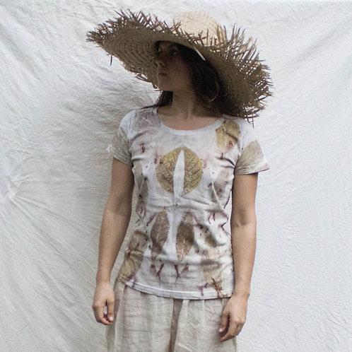 camiseta de algodão orgânico
