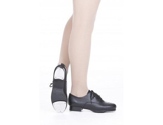 Boys Black Tap Shoe