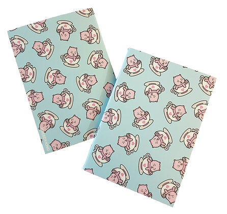 Pink Kitty Notebook