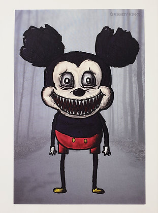Horror Mouse Postcard