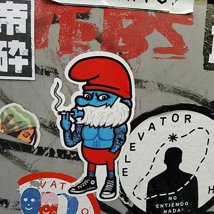 Big Papa Puff Sticker