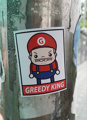 Greedio Sticker