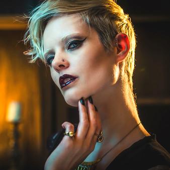 Model: Yvonne Tolker Photographer: Ze Castle (zecastle.com) Makeup: Daylin Laine