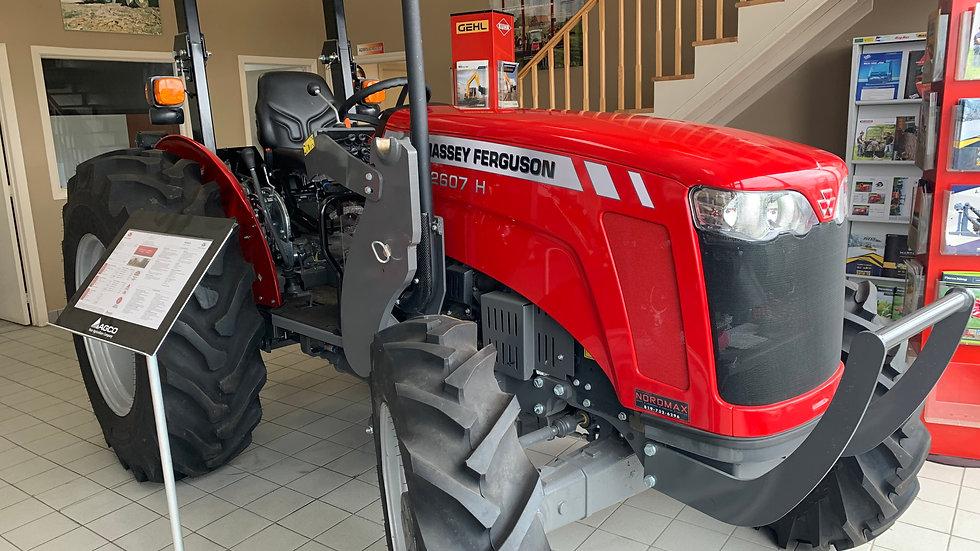 Tracteur Massey Ferguson 2607H 2018