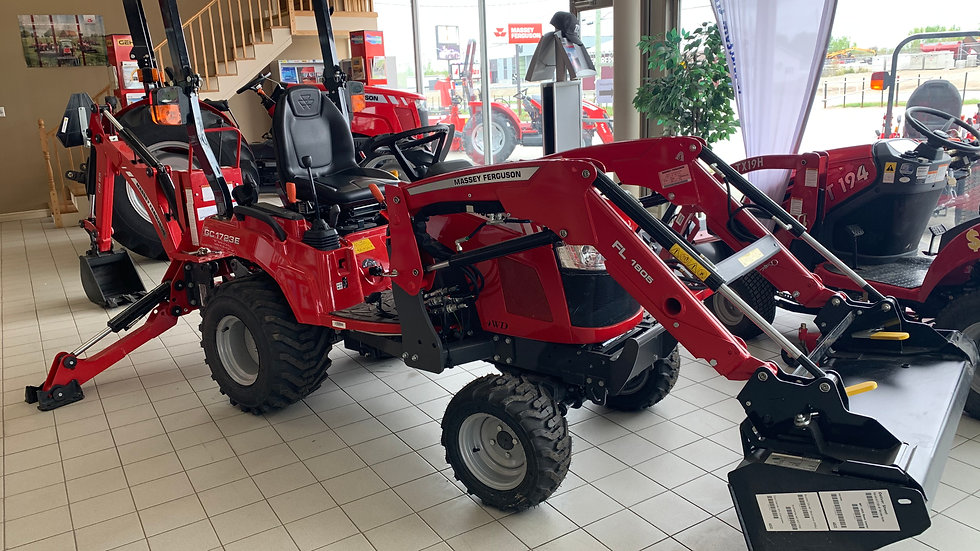 Tracteur Massey Ferguson GC1723E 2019