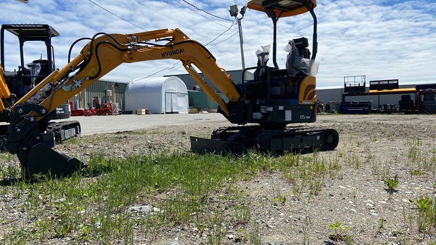 Excavatrice Hyundai R17Z-9A 2020