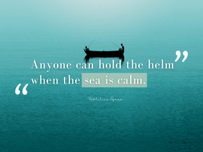 Why calmness and performance go hand in hand