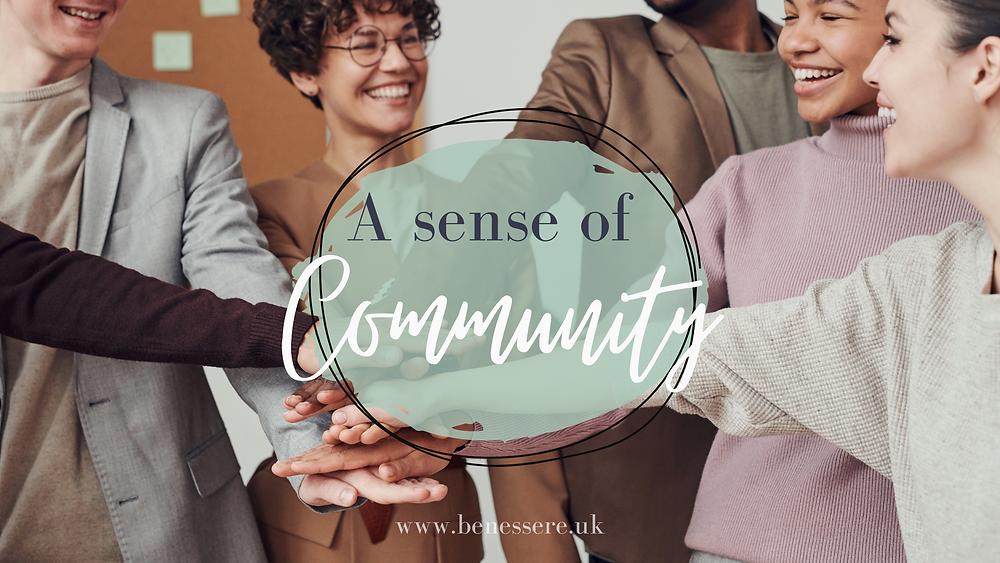 A sense of Community