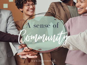 Why a sense of Community matters at work