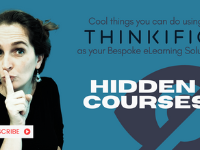 Using hidden courses on Thinkific to share them with selected audiences