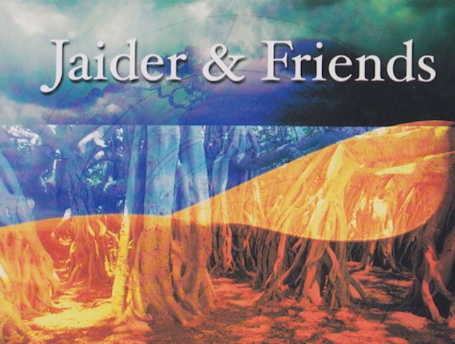 Jaider and Friends _Roots_ CD front cove