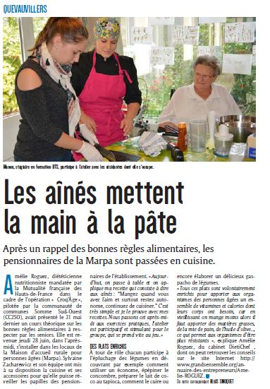 article courrier picard quevauvilliers