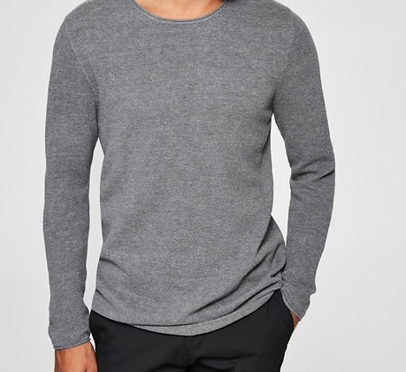 Pull gris Selected