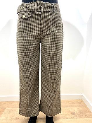 Pantalon à carreaux Tiffosi