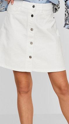 Jupe blanche boutonnée