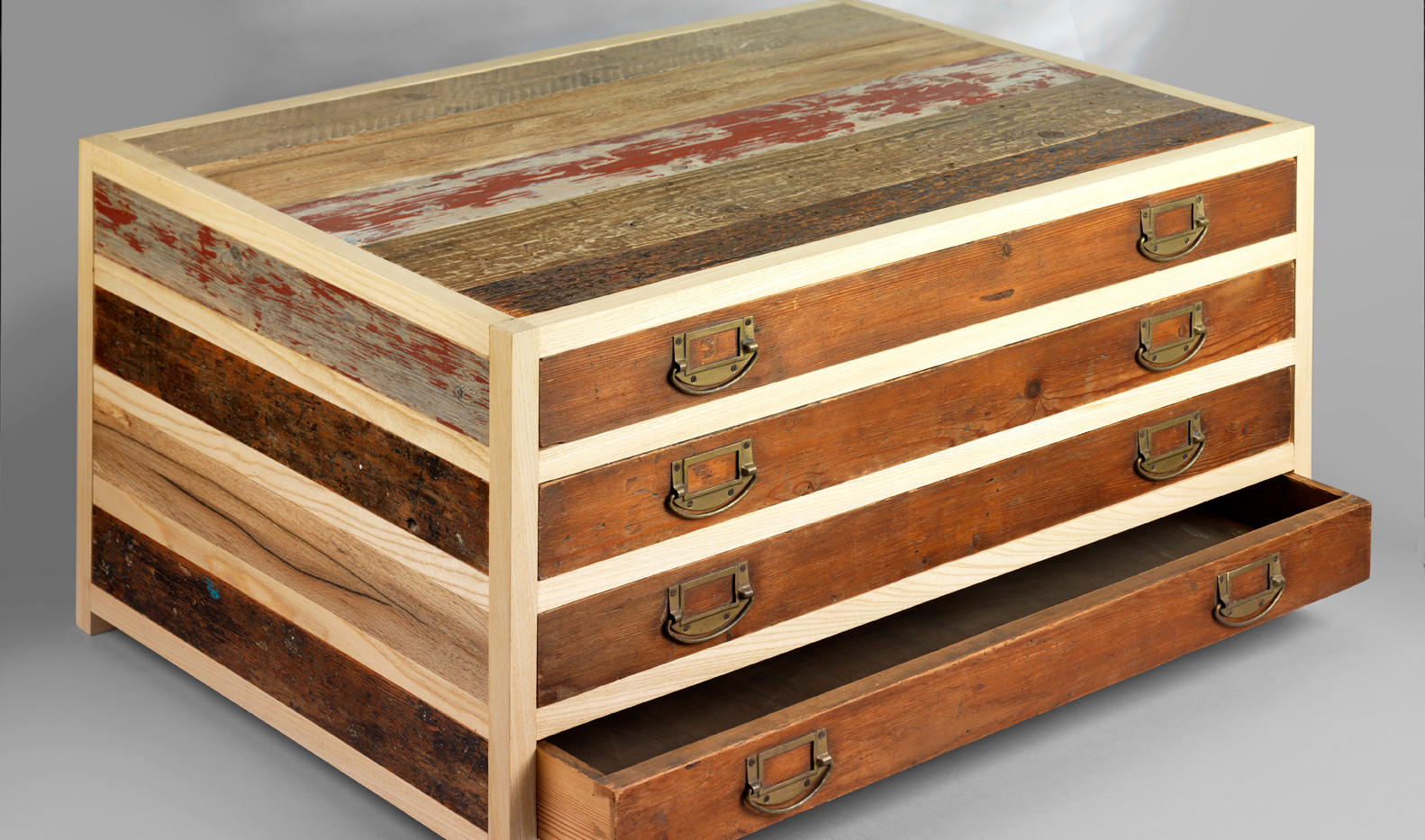 Plan chest - open drawer