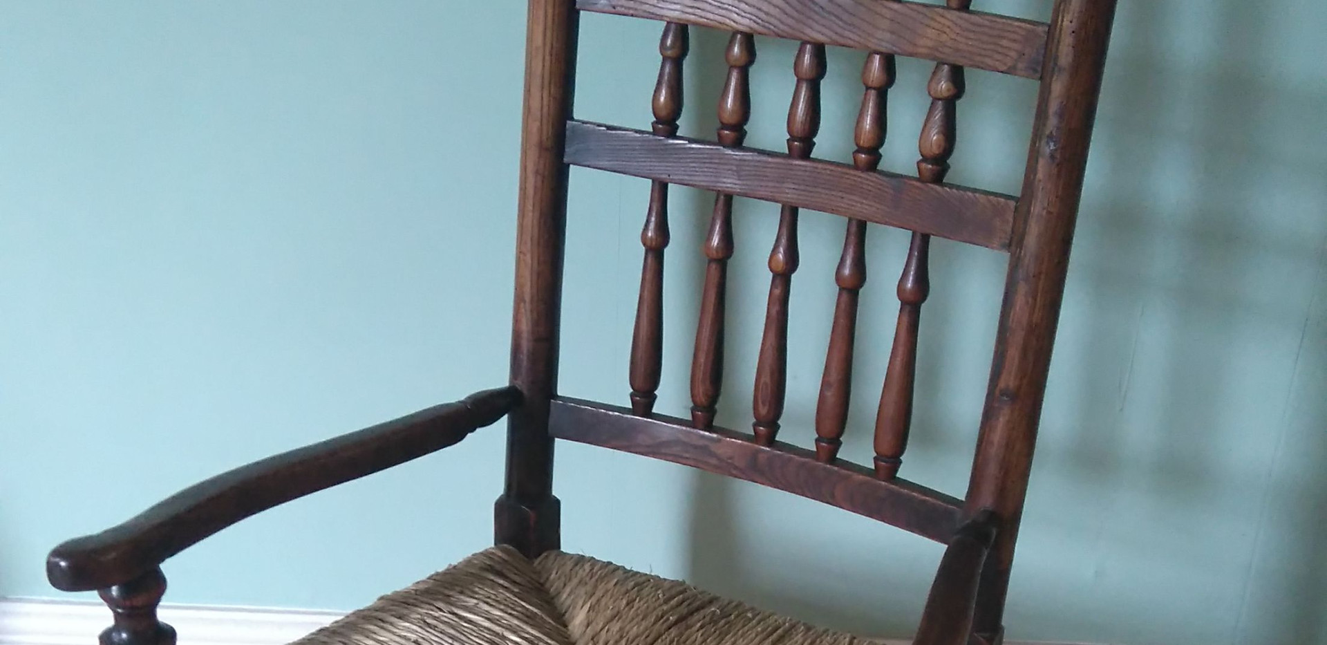 Finished Sussex type chair