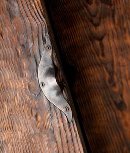 burnt wood with handle