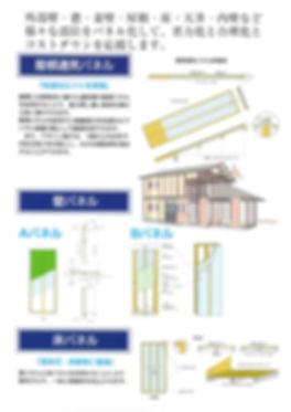 飯岡工業(株)の住宅パネルは屋根通気パネル、壁パネル、床パネルがあります。オーダーメイドですので他の部材も製造します。