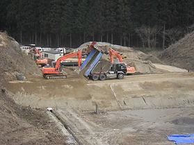 飯岡工業(株)は、土木工事を福島、郡山、小野町、田村市、いわき市、相双でしています。