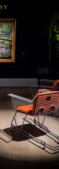 Banksy Trolley Chairs