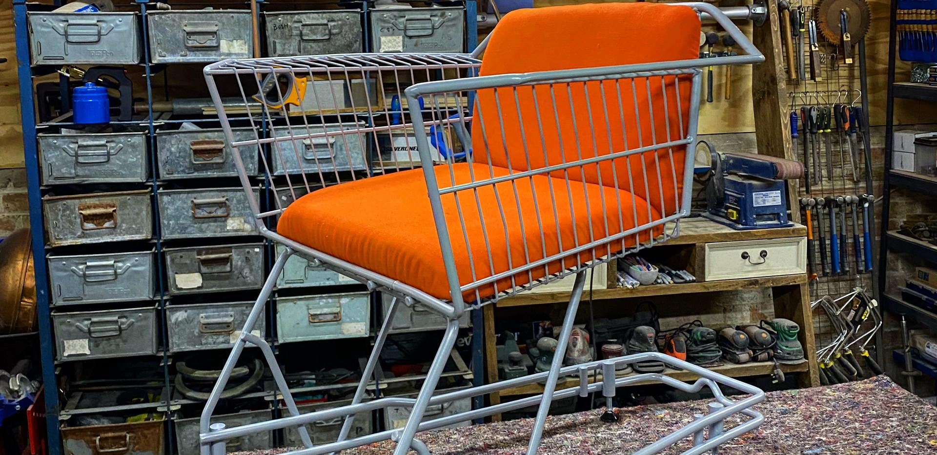 Max McMurdo - The Shopping Trolley Chair