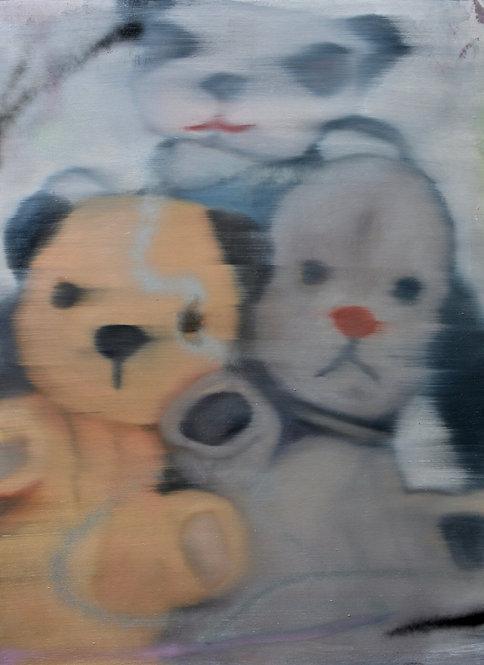 Tim Gatenby - Panda, Bear & Dog
