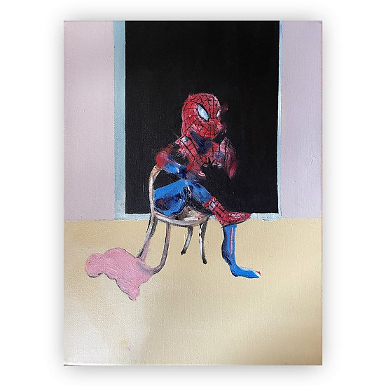 Lee Ellis - There's a Spider on my Bacon study