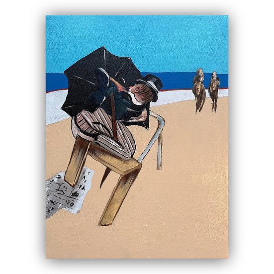 Lee Ellis - Beach Penguin study