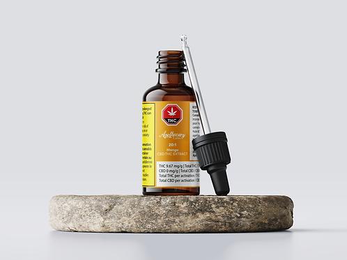 Mango Flavored  - 20:1 CBD:THC Tincture