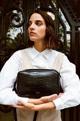 Louvreuse, le sac Niki croco