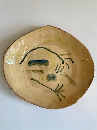 Heloïse Bariol, plat en terre vernissée