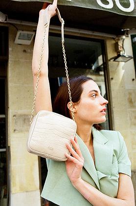 Louvreuse, le sac Niki Mini croco