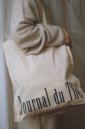 Journal du Thé, Tote bag en coton biologique