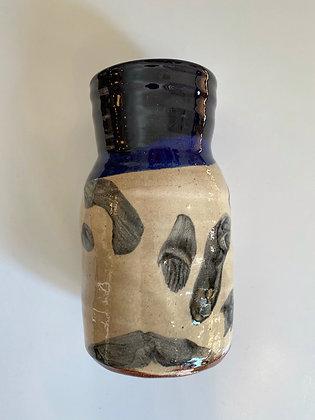 Heloïse Bariol, vase en terre vernissée