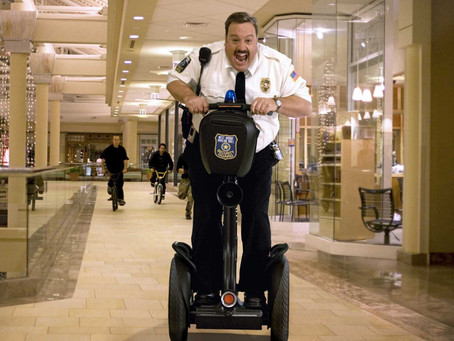 Death, Piers Morgan, Copyright Laws, and... Mall Cop?